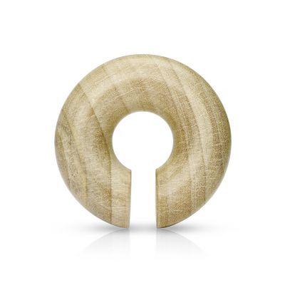 Hanger circular de madeira